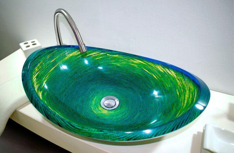 lavamanos modernos hechos a mano grande epoxica cabuya