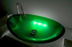 lavamanos modernos hechos a mano grande epoxica jodeita