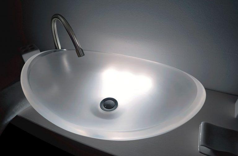 lavamanos modernos hechos a mano modelo uretano optica diamante opaco1
