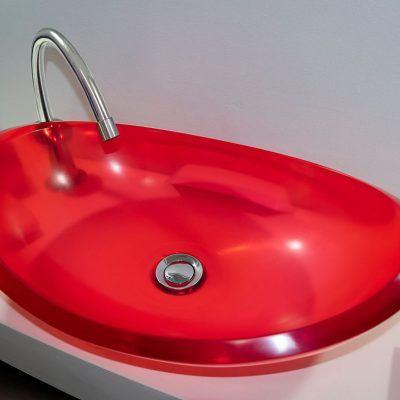 lavamanos modernos hechos a mano modelo uretano optica rubi