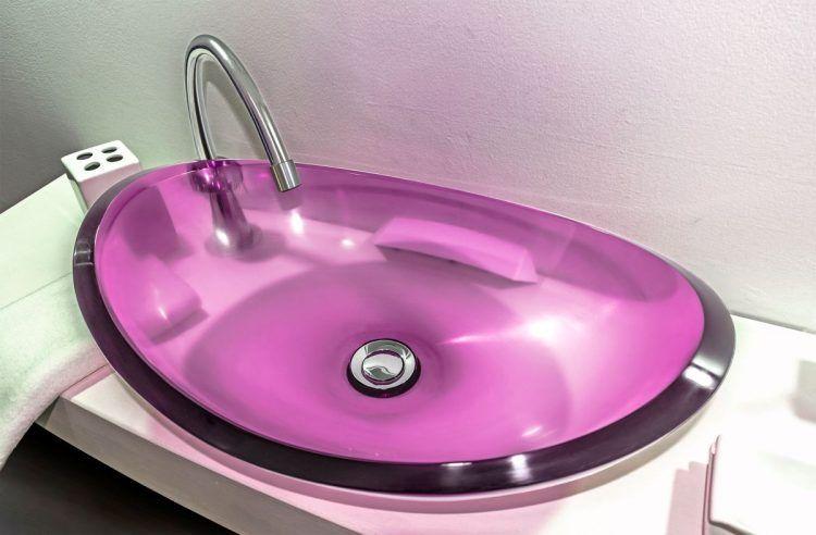 lavamanos modernos hechos a mano modelo uretano optica taaffeite